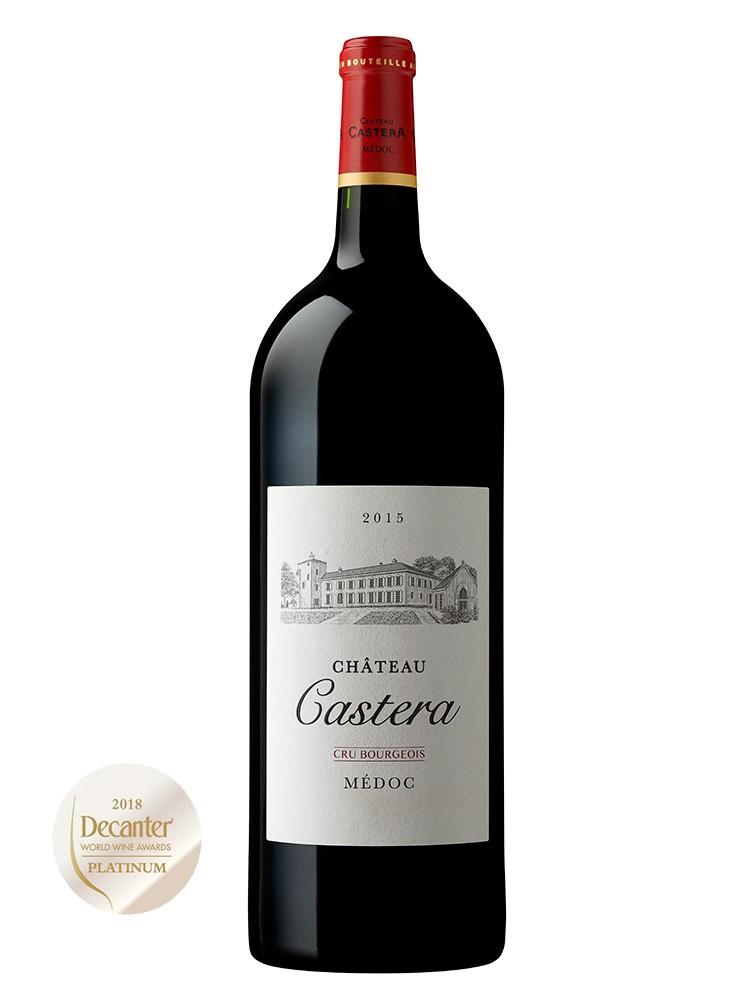 MAGNUM CHÂTEAU CASTERA 2015 Château Castera